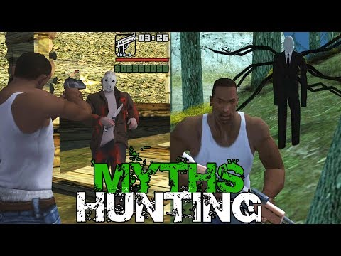 GTA San Andreas Myths And Legends FOUND | HUNTING 2