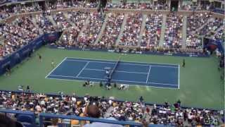 US Open 2012  Women's Singels Final: Victoria Azarenca vs Serena Williams.