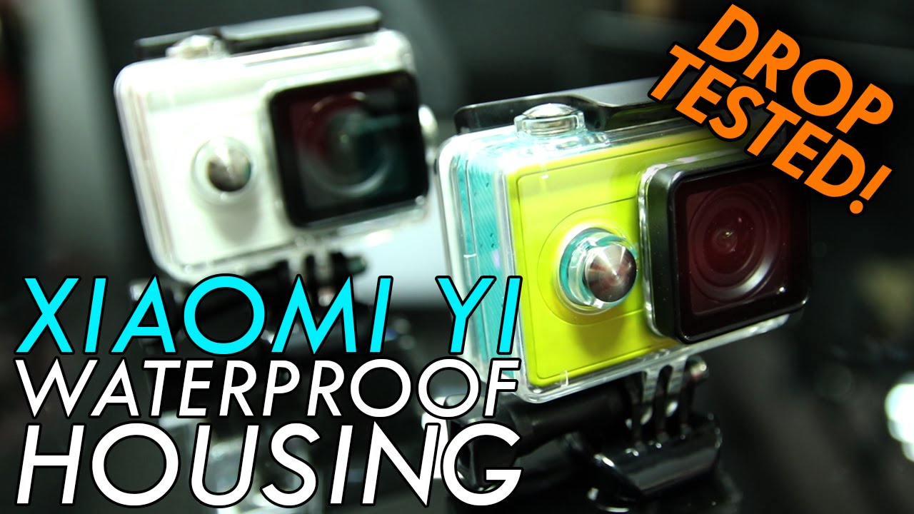 Xiaomi Yi Xiaoyi 3rd Party Waterproof Housing Review - Pool Test & Drop Test