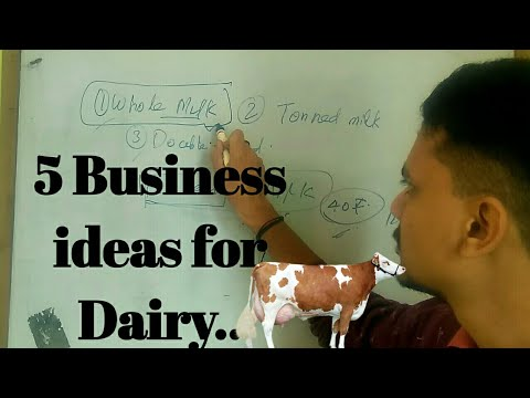 Top 5 Business ideas for Dairy...