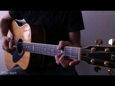 Guitar Cover Who says(John Mayer)  by KentaSuzuki【TAB】