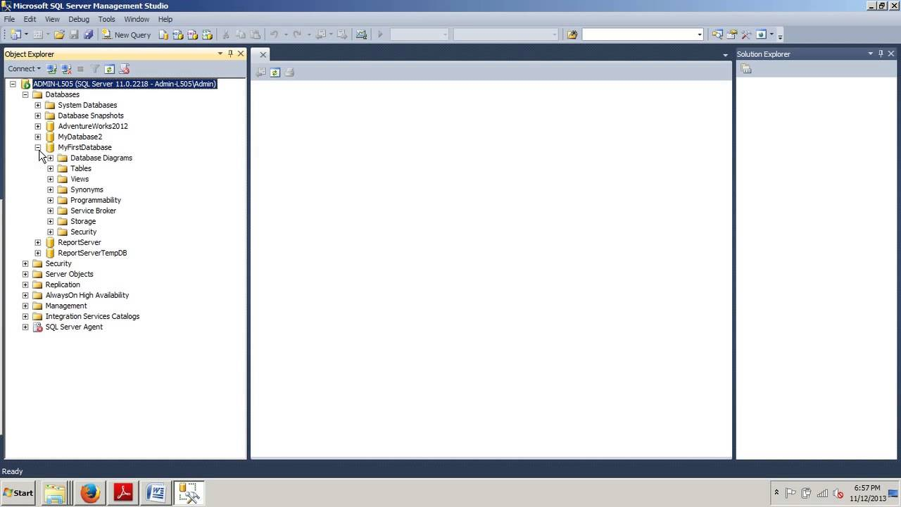 Sql server tutorial 8 how to create a database schema using ssms sql server tutorial 8 how to create a database schema using ssms and t sql ccuart Image collections