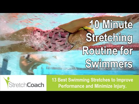 Swimming Stretches, Swimming Stretching Routine, Best Flexibility Program for Swimmers