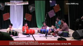 Layasaaram Institute of Indian Arts-Drums-Song [India Association of MN]