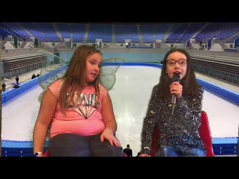 Olympic Interview ( On Green Screen )