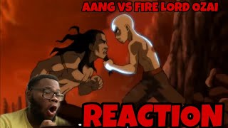 Aang vs. Fire Lord Ozai Finall Battle Reaction|OMG! Avatar IS OverPowered!