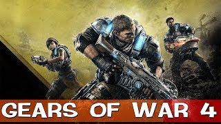 СТРИМ●Gears of War 4●Кровища Прилагается●Пробуем Пробную Версию