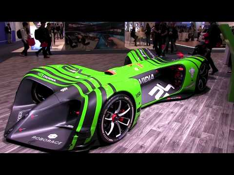 NVIDIA Demonstration of Its AI Building Blocks and Tools for Autonomous Driving