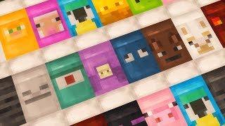 как сделать в майнкрафте разноцветную кровать без модов