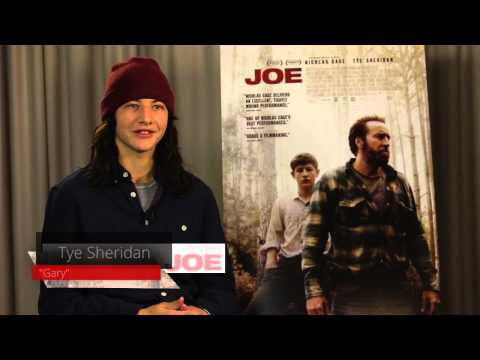 JOE movie interviews: Indie Films vs Studio Nicolas Cage, Tye Sheridan