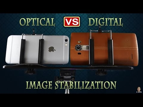 Optical vs Digital Image Stabilization Video Test Battle - LG G4 vs iPhone 6