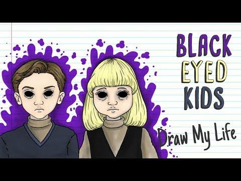 BLACK EYED KIDS BEK | Draw My Life Urban Legends