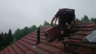 Nieudana próba naprawy komina