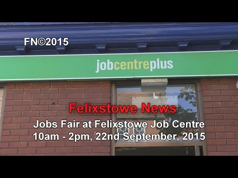 Jobs Fair at the Job Centre 22nd September: