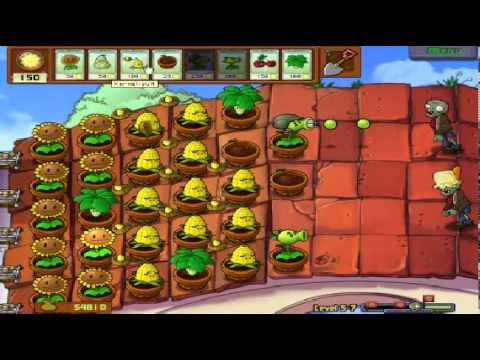 Plants vs zombies (Trồng cây bắn zombie) - Cấp độ 5-7 (Game Việt Hóa)