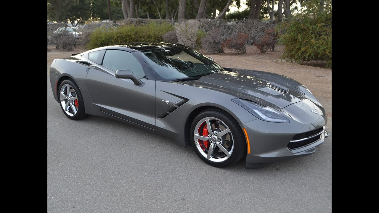 SOLD 2015 Chevrolet Corvette Coupe in Shark Gray for sale ...