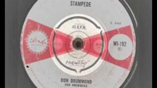 Don Drummond - Stampede - Island Records -  WI -192 -  D. Reid 1965  - Ska