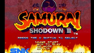 PSX Longplay [276] Samurai Shodown III: Blades of Blood