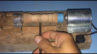 How to make mini lathe machine at home very easy