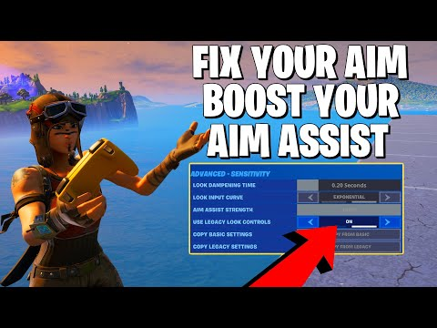 THE BEST NEW FORTNITE SETTINGS FOR CONTROLLER **Fix Your Fortnite Aim**