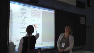 Открытый урок в 6 классе с использованием интерактивной доски