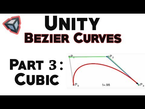 Bezier Curves in Unity: Cubic Curve - YouTube