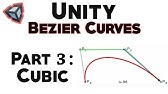 Bezier Curves in Unity: Quadratic Curve - YouTube