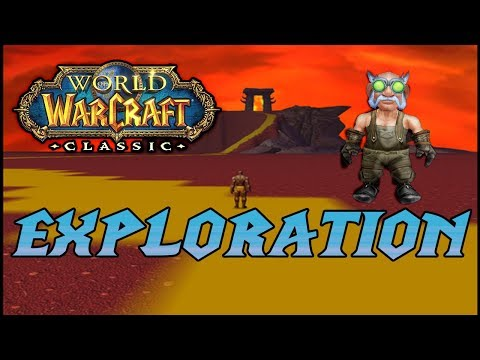 Exploring WoW CLASSIC Secret Zones And Areas