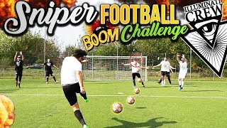 SNIPER FOOTBALL CHALLENGE vs ILLUMINATI CREW