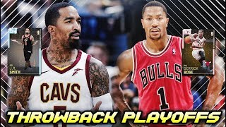 THROWBACK PLAYOFFS MOMENTS CARDS ARE NOW IN NBA 2K19 MyTEAM!!   PINK DIAMOND ROSE & DIAMOND JR SMITH