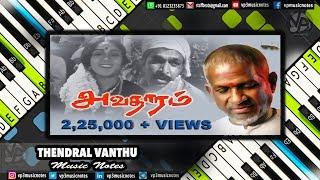 Thendral Vanthu Theendum (Avathaaram) Ilayaraja Piano Notes, Midi File & Karaoke