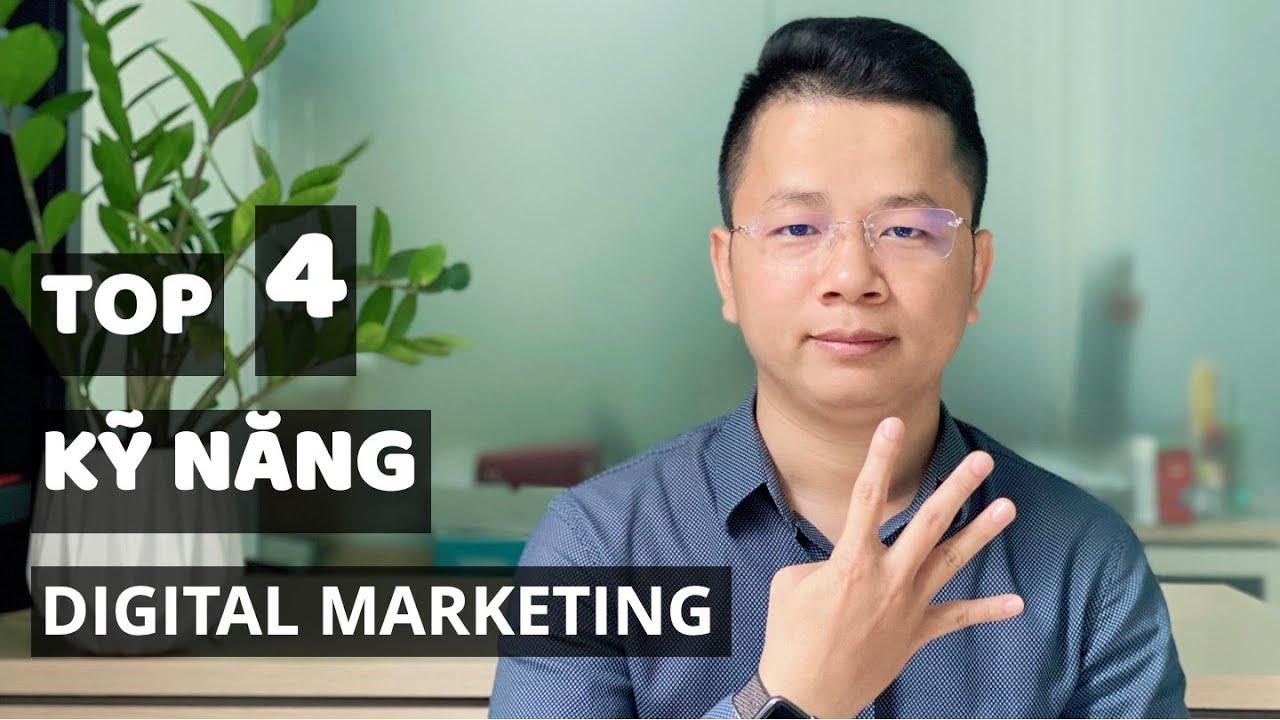 Top 4 kỹ năng Digital Marketing cho người mới bắt đầu | Marketing | Thầy Giáo Mưa