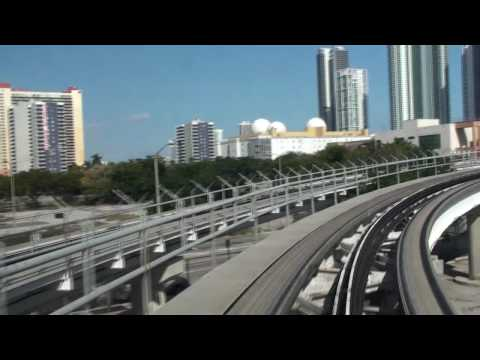 Miami Metromover - Downtown Loop Timelapse