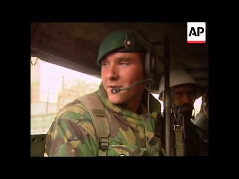 Peacekeepers Patrol Streets With Afghan Soldiers