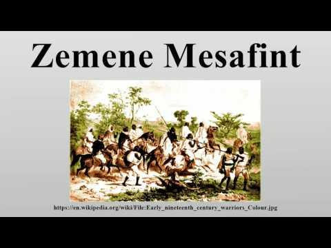 Zemene Mesafint