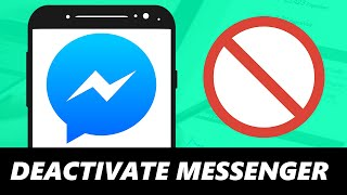 How to Deactivate Messenger Account Using Phone 2020! | Android & IOS