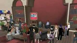 Dean Koontz appearance in Second Life