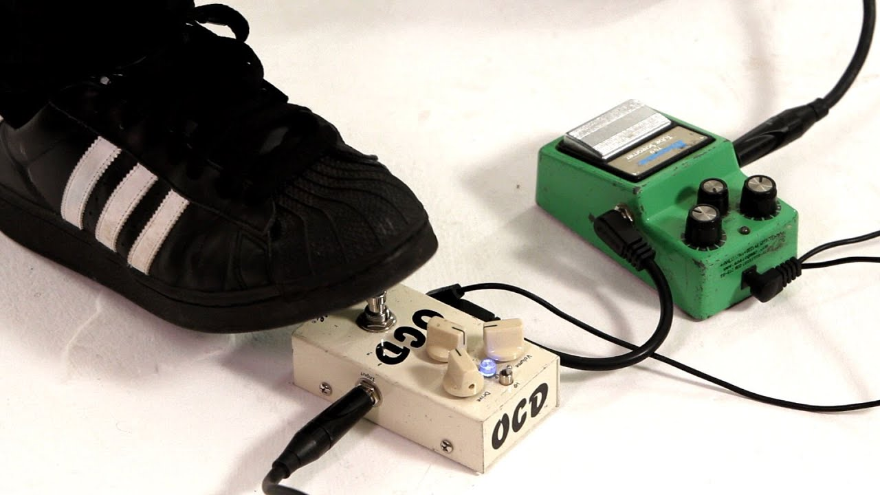 use an overdrive pedal as a clean boost guitar pedals youtube