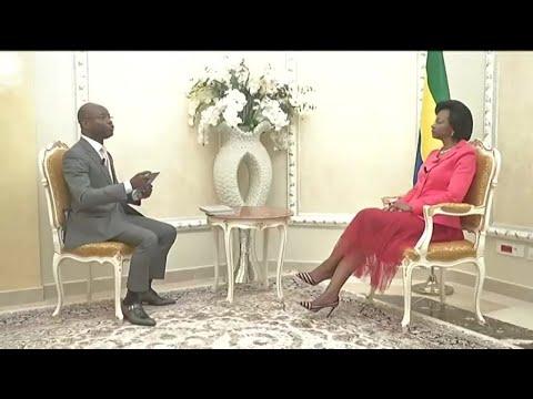TALK - Gabon: Marie-Madeleine Mborantsuo, Présidente de la Cour constitutionnelle (1/4)