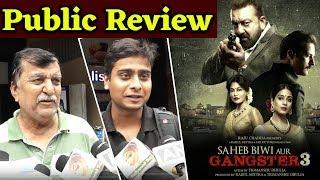 Saheb Biwi Aur Gangster 3 Public Review | Sanjay Dutt | Mahi Gill | Tigmanshu Dhulia