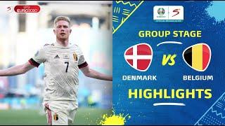UEFA Euro 2020 | Group B | Denmark v Belgium | Highlights