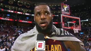 LeBron James Postgame Interview | Cavaliers vs Raptors - Game 2 | May 3, 2018 | 2018 NBA Playoffs