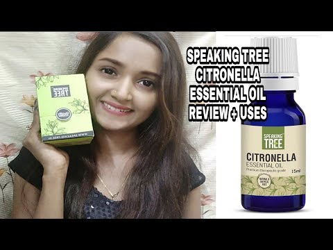 SPEAKING TREE CITRONELLA ESSENTIAL OIL REVIEW + USES / # Style High