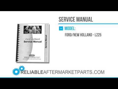 hqdefault 3091 new holland l225 l325 skid steer service manual youtube wiring diagram for new holland ls180 at soozxer.org