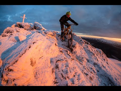 MTB Dawn Raid - Ben Ledi Sunrise - Hero 5 Session POV