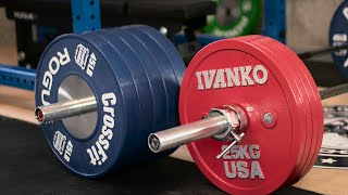 Competition Plates - Switching to Kilos