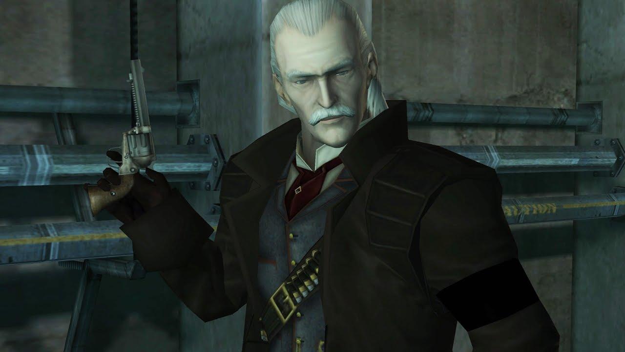 Metal Gear Solid Twin Snakes: Revolver Ocelot Boss Fight - YouTube