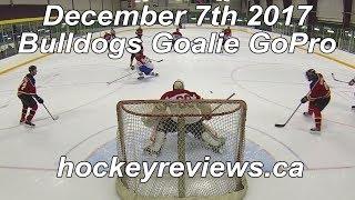 December 7th 2017 Bulldogs Embarrassing Hockey Goalie GoPro