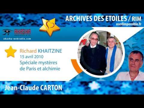 Richard KHAITZINE | Mystères de Paris, alchimie, société | Archive IDFM