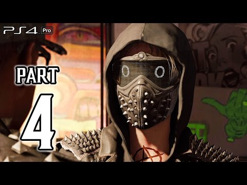 watch dogs ps4 gameplay 1080p vs 4k